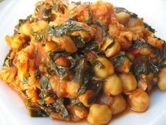 Easy recipe to incorporate healthy Kale with Garbanzo beans for protein.