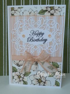 579 Best My Stampin Up Creations Images In 2019 border=