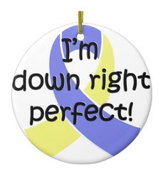 """Show off your pride for yourself or a loved one with chromosomal abnormalities. This """"Down Right Perfect, Down Syndrome Awareness"""" design is sure to make people smile. Down Syndrome Awareness, Pride, Baby Boy, People, Ideas, Design, People Illustration, Thoughts, Folk"""
