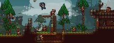 King Arthur's Gold [multiplayer platformer] http://kag2d.com/en/