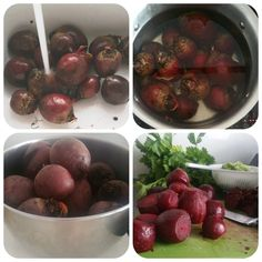 Step by step guide to pickled beetroot