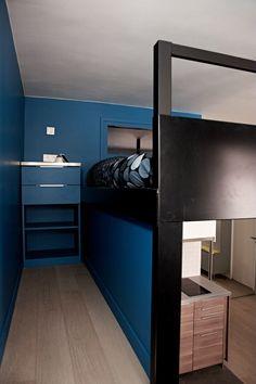 e8d8ccfcb2a85 Avant après   une loge de 26 m2 transformée en studio Camas Altas