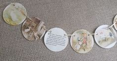 Beatrix Potter Storybook Paper Garland Bunting by thelittleflagco on Etsy https://www.etsy.com/listing/279719936/beatrix-potter-storybook-paper-garland