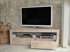 Steigerhouten tv-meubel   tv-meubel Sandy   tv-meubel met laden   de Steigeraar