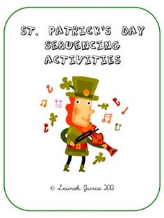 FREE St. Patty's Day Sequencing Activity - Re-pinned by @PediaStaff – Please Visit http://ht.ly/63sNt for all our pediatric therapy pins