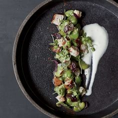 Smoked Whitefish Tartare with Herb Oil | Food & Wine