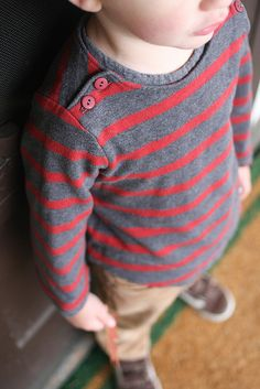 Oliver + S Sailboat Top sewing pattern |sewn by supergail