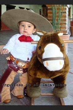 Gotta do this with my baby! Cowboy Birthday Party, Mexican Birthday, Cowboy Party, Mexican Party, Baby Birthday, 1st Birthday Parties, Cute Kids, Cute Babies, Charro Wedding