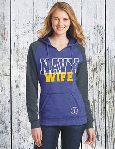 US Navy Wife Navy Fiance Navy Hoodie Military Sweatshirt Navy Sweatshirt Navy Wedding Navy Gifts Navy Shirts Navy Wife Navy Mom Navy DT296