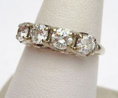 14kt Diamond 1 carat Wedding Band by KlinesJewelry on Etsy, $1500.00