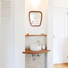 House Rooms, Vanity, Bathroom, Interior, Home, Dressing Tables, Washroom, Powder Room, Indoor