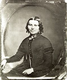 Clara Barton, 1821-1912, founder of American Red Cross