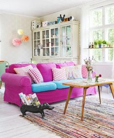 Iloisten ideoiden olohuone | Unelmien Talo&Koti