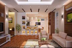 vu khoi living room and kitchen
