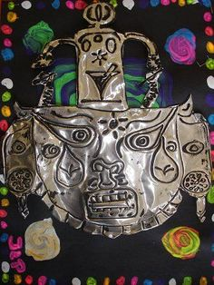 Image result for aztec metal art