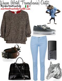 """""""Wayne (Hotel Transylvania) Outfit:"""" by martinafromitaly ❤ liked on Polyvore"""