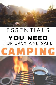 Essentials you need for camping. Camping essentials, camping essentials list, camping essentials for women, camping essentials list families, camping essentials for couples, camping essentials for kids, camping essentials list for women, camping essentials for camper, Minimalist camping essentials, #camping #campingtips