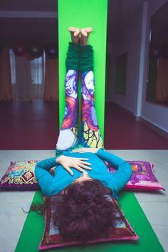 ViparitaKarani (The Legs-Up-the-Wall Pose) for Hypothyroidism