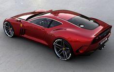 Ferrari 612 GTO   Concept Cars, I'm not a huge Ferrari fan, but wow love the muscle car twist