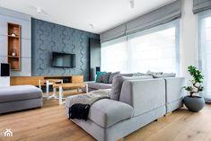 dom na Woli Justowskiej / projekt Avocado - Mały salon, styl nowoczesny - zdjęcie od Mateusz Torbus / 7 TH IDEA