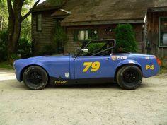 1972 MG Midget race car
