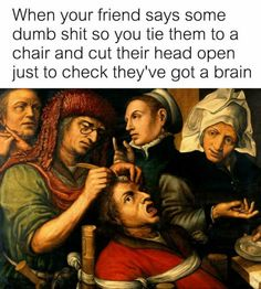 So there's a classical art memes section now. Fascinating