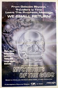 Mysteries of the Gods (aka Miracles of the Gods), 1977 - original vintage movie poster listed on AntikBar.co.uk