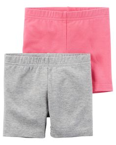 Toddler Girl 2-Pack Playground Shorts from Carters.com. Shop clothing & accessories from a trusted name in kids, toddlers, and baby clothes.