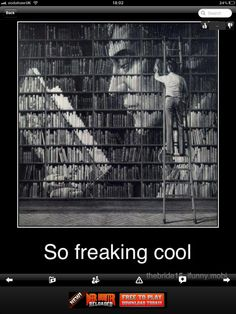 I want this book case!
