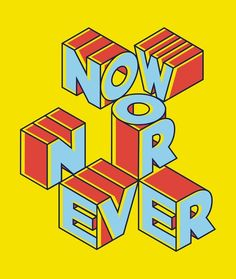 NOW OR NEVER by David Palma