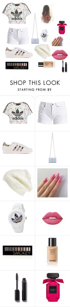 """""""Your Birthday With Louis Tomlinson!!"""" by maggiehoeser on Polyvore featuring adidas Originals, Barbour International, Yves Saint Laurent, King & Fifth Supply Co., adidas, Lime Crime, Forever 21 and Chanel"""