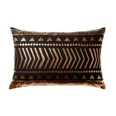 Home Republic Copper Aztec Geo - Homewares Cushions - Adairs online