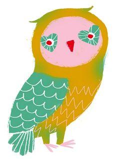 'Owl Yeah' by Giovana Medeiros