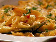 Lobster Macaroni and Cheese from FoodNetwork.com