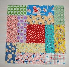 Feedsack Quilt Pattern. I LUV these fabrics. Must use up some of my 2 drawers full of my 30's fabrics !!