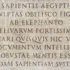 Lovely inscription near the Pantheon. #lettering #inscription #