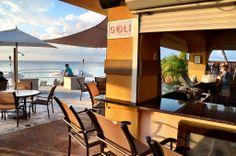 Visit Sol Bar at the Grand Cayman Marriott Beach Resort! Lounge Club, Bar Lounge, Grand Cayman Island, Cayman Islands, Beach Hotels, Beach Resorts, Pool Side Bar, Kitchen Bar Design, Beach Bars