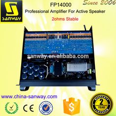 FP14000 2 CH Professional Amplifier For Active Speaker
