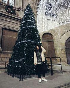 Xmas, tree, lights.