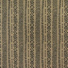"""Clarence House """"Timbuktu"""" in Khaki 3 – Revitaliste Striped Upholstery Fabric, Clarence House, Wallpaper, Pattern, Brown, Black, Black People, Wall Papers, Patterns"""