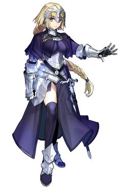 Jeanne from Fate/Extella: The Umbral Star