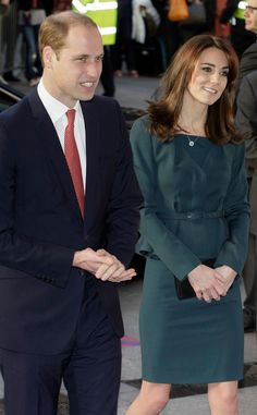Catherine, Duchess of Cambridge, and the Duke of Cambridge, Prince William at the ICAP 23rd Annual Charity Day in London, Wed., Dec. 9, 2015