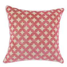 Volt Raspberry Accent pillow