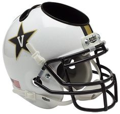 Vanderbilt Commodores Mini Helmet Desk Caddy -White