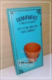 Cuadros Carteles Vintage Madera 20x30cm 18mm - $ 195,00