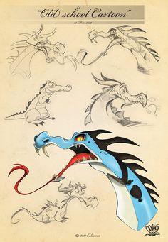 Dragons sketch page 10 by celaoxxx.deviantart.com on @deviantART
