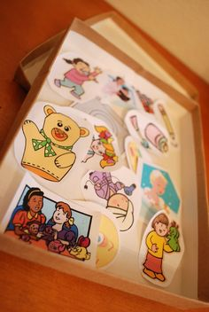 My 3yr old daughter and I sat down at the computer and I had her pick out clip art images that represented some of her favorite activities.  We printed them, cut them out, and put them in a little box.  Every day during my son's morning nap she gets to pick one of the activities for us to do together.  She loves it and I love spending time with her one-on-one doing things that she enjoys :0)