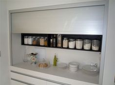 Billedresultat for kitchen roller shutter cupboard