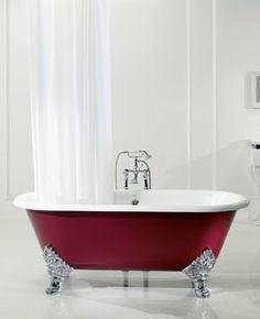 Bateau bath 1780 nth primed exterior en suite bathroom for Luxor baths