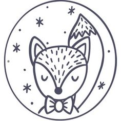 Silhouette Design Store: Fox Ornament – Deanna M. Fox Embroidery, Hand Embroidery Patterns, Silhouette Design, Silhouette Store, Machine Silhouette Portrait, Fox Ornaments, Ornament Drawing, Punch Needle Patterns, Electronics Projects